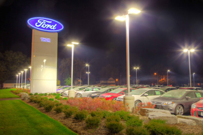 Ford Dealer, Thor Motors, Orillia, Ontario